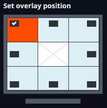 FBX overlay position setting