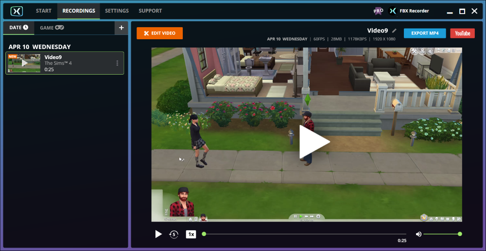 The Sims videos