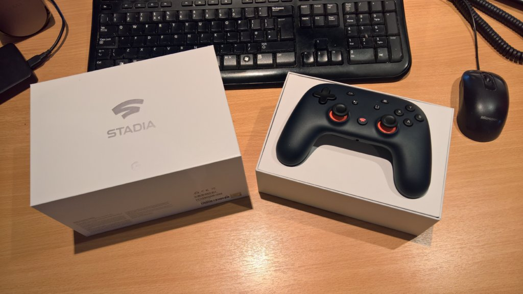 Google Stadia wireless controller